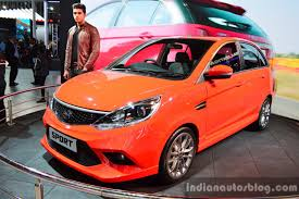 orange cars 2016 tata motors ties up with jayem automotives for performance cars