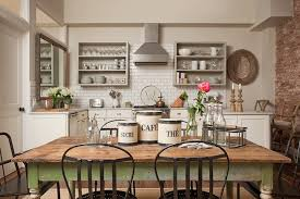 farmhouse dining table cottage kitchen jenny wolf interiors