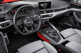 audi dashboard 2017 2019 audi rs 5 interior changes dashboard