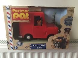 postman pat playset van vehicle police car greendale rocket