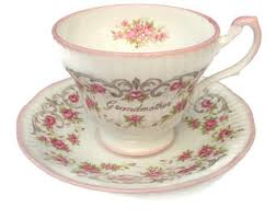grandmother s bone china rosina china co etsy