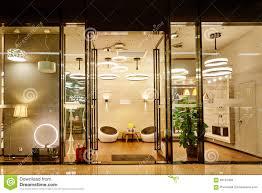 luxury led lighting shop window stock photo image 60152458
