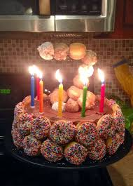 doughnut cake ideas 76520 donut cake birthday ideas pinterest