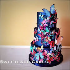 butterfly cake butterfly cake for annabel cake by renay zamora cakesdecor