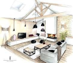 les cuisines à vivre a vivre avec salon conception ration dune cuisine a