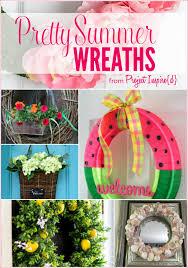 summer wreath 9 pretty summer wreaths yesterday on tuesday