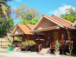 lipe coco beach bungalows in thailand asia