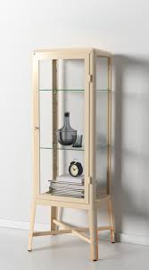 Klingsbo Glass Door Cabinet Cabinet Protect Your Glassware Or Your Favorite Collection With