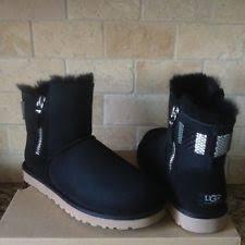 s ugg australia mini zip boots ugg australia zip suede winter boots for ebay