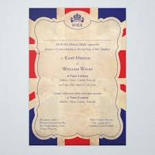 The Grand Union Flag Britannia Union Jack Wedding Invitations Ink U0026 Curls