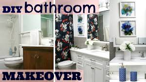 diy ugly 70 u0027s bathroom to a sleek new bathroom renovation