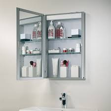 Bathroom Shelf Unit Bathroom Cabinets Slimline Mirrored Bathroom Cabinets Chrome
