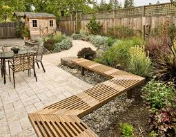unique wooden bench decorating ideas to personalize yard wood