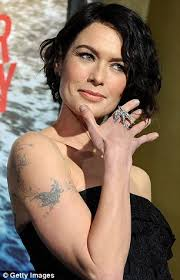 lena headey shows off tattoos while eva green shimmers in backless