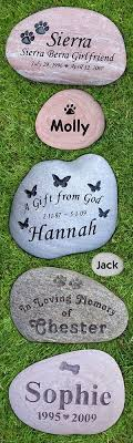 memorial stones for dogs custom engraved pet memorial stones honor your beloved pet with a
