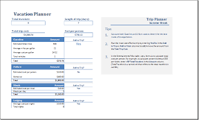 family academic and business planners for word excel word