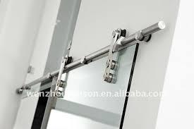 Shower Door Rails Tempered Clear Glass Interior Sliding Barn Doors Buy Glass