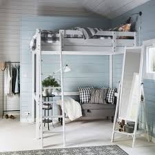 cool girls loft bedroom from ikea nterior design introduce idyllic