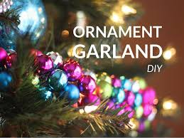 easy diy christmas ornament garland moms without answers