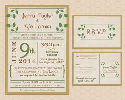 wedding invitations and rsvp themed wedding invitation set with rsvp card honeybee