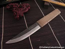 Custom Japanese Kitchen Knives Takeda Japanese Work Knife Fort Henry Custom Knivesfort Henry