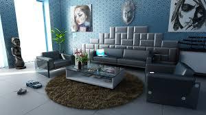Wohnzimmer Einrichten Grau Gelb Blau Grau Wohnzimmer Komponiert On Moderne Deko Idee Plus Farbcode