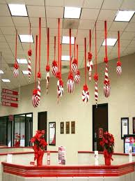 diy christmas decorations for office tables office cubicle