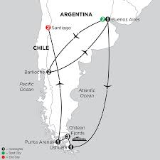 Patagonia Map Patagonia U0026 Chilean Fjords With Bariloche Monograms Pavlus Travel