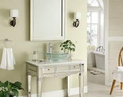 36 vessel sink vanity vanity adelina 36 inch mirrored vessel sink bathroom vanity