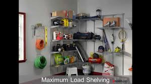 Closetmaid Shelf Track System Diy Garage Systems And Solutions From Closetmaid Youtube