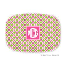 personalized melamine platters personalized melamine platters 15 colors an affair