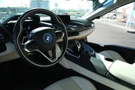 I8 Bmw Interior The Sights And Sounds Of The Bmw I8 Techcrunch