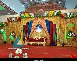 wedding stage decoration jayaram thirumana nilayam puducherry