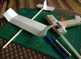 foam plate and plastic straw gliders ideas inspire