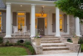 colonial front porch designs updating a dated colonial exterior migonis home