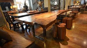 wood slab table texas tuscan furniture jpg luxesource luxe