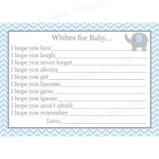 wishes for baby cards 24 baby shower wishes for baby cards elephant blue
