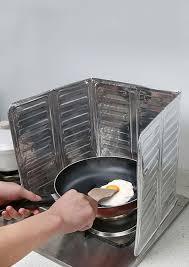 removable oil gas stove oil proof splash guard board bellelily