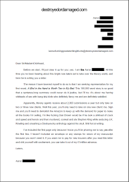 Real Estate Sample Letter Agent Cover Letters