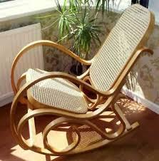 siege thonet neuf rotin siège bois courbé bouleau à bascule chaise thonet salle à