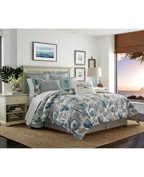 Cotton Queen Duvet Cover Tommy Bahama Home Raw Coast Cotton Queen Duvet Cover Set Bedding