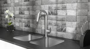 american standard press beale touchless faucet brings sleek style
