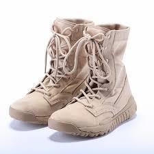 light brown combat boots 2017 new army boots men tactical military super light summer combat