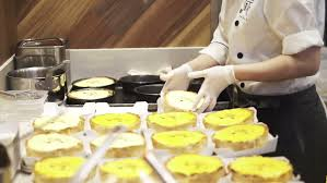 Select Comfort Stock Restaurant Guests Select Food From A Buffet Hd Stock Footage Video