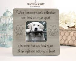 grieving the loss of a pet pet loss etsy