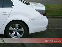 bmw beamer 2008 rtint bmw 5 series sedan 2004 2010 tail light tint film