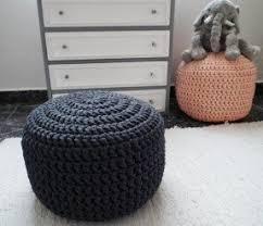 Crochet Ottoman Pouf Ottoman Foter
