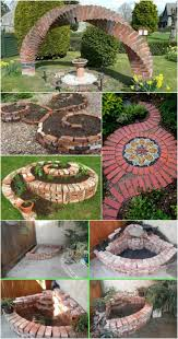 cool diy ideas for creating garden or backyard projects using old