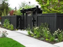Small Backyard Privacy Ideas Download Back Yard Fence Ideas Garden Design