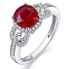 ruby diamond ring marvelous ruby and diamond engagement ring jeenjewels